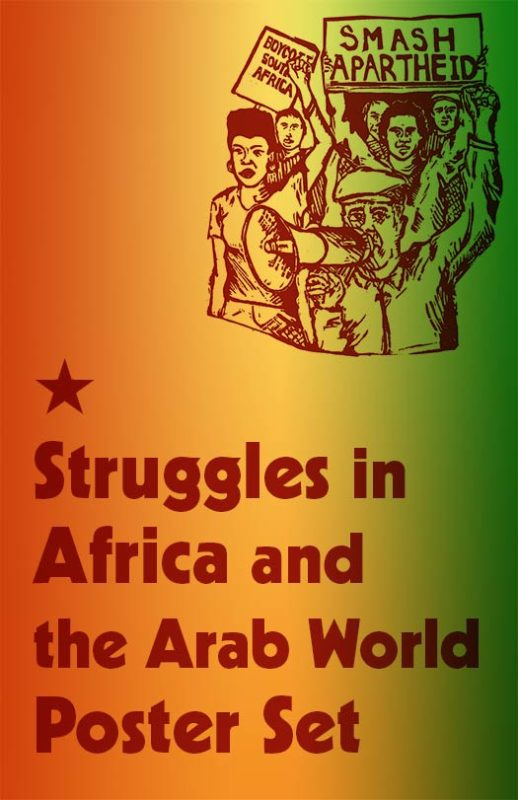 People's Struggles in Africa and the Arab World Poster Set
