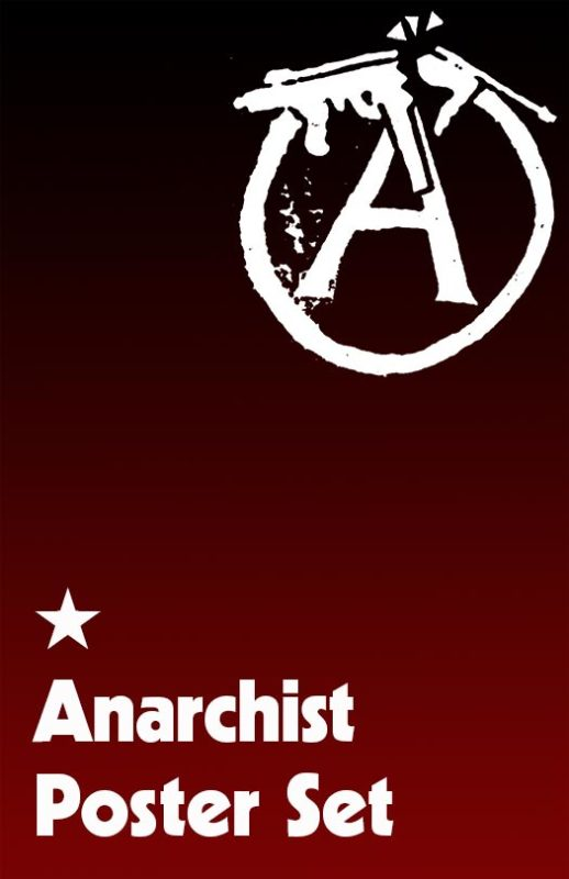 Anarchism Poster Set