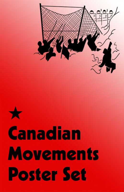 Canadian Movements Poster Set