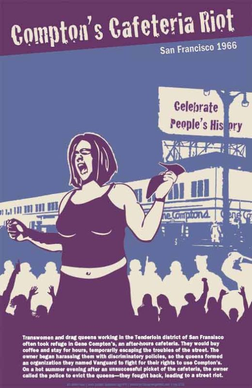 Compton's Cafeteria Riot