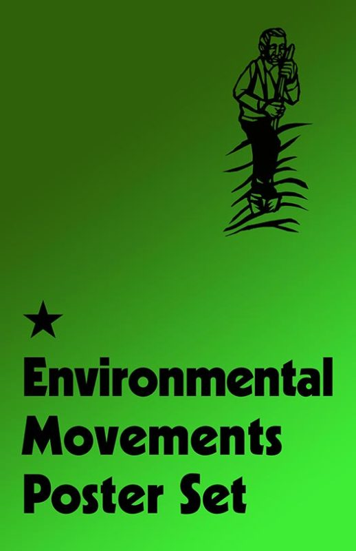 Environmental Movements Poster Set