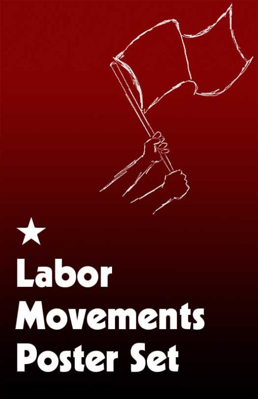 Labor Movements Poster Set