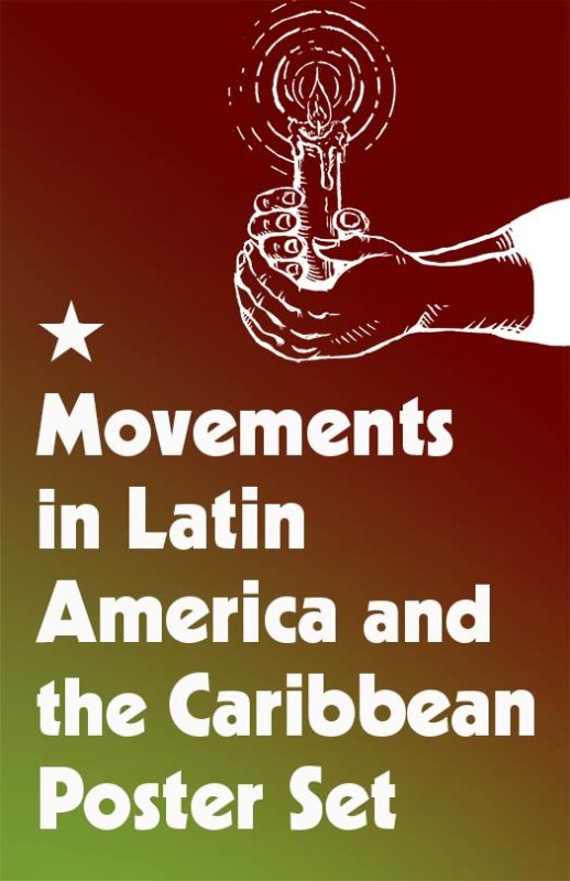 Movements in Latin America & the Caribbean Poster Set