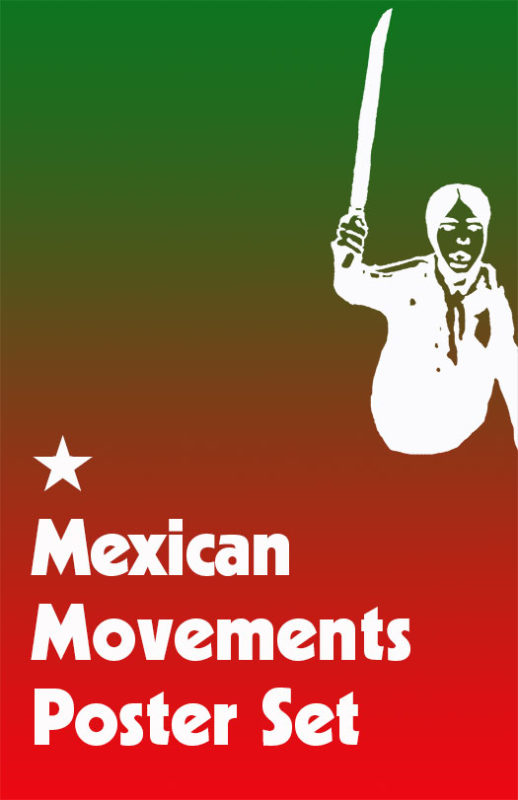Mexican Movements Poster Set