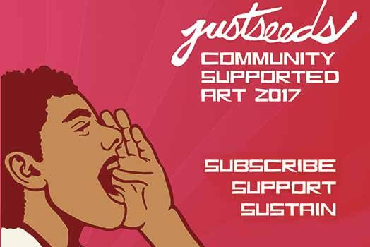 Subscribe to Community Supported Art for 2017!