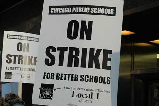 Chicago Teachers Strike – Day One
