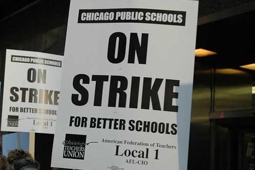 Chicago Teachers Strike – Day One