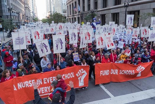 CTU-SEIU 73 Art Build: Art Tactics for the #RedforEd Movement