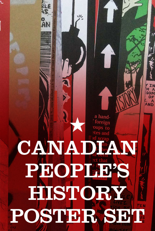 Canadian People's History Poster Pack