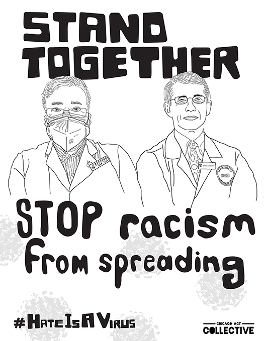 Stand Together, Stop Racism from Spreading