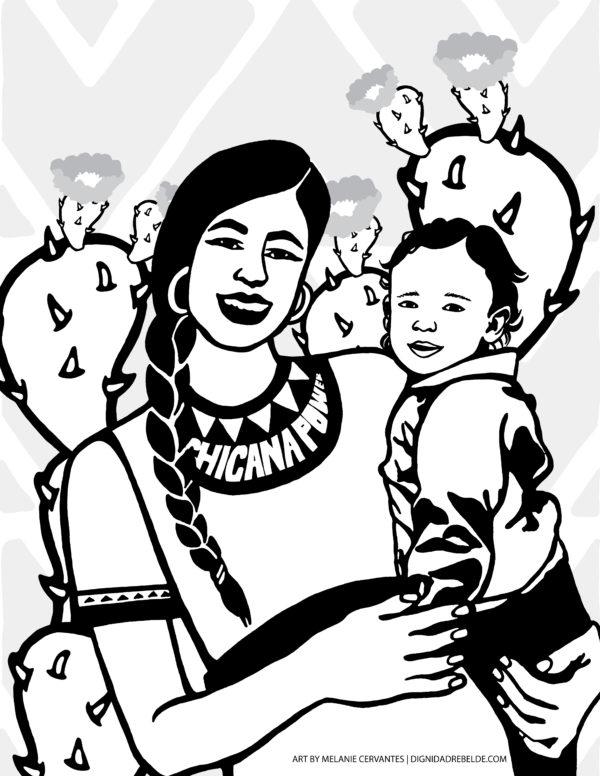 Chicana Power Mama