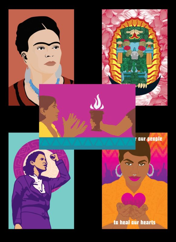 Chingona Postcard Set