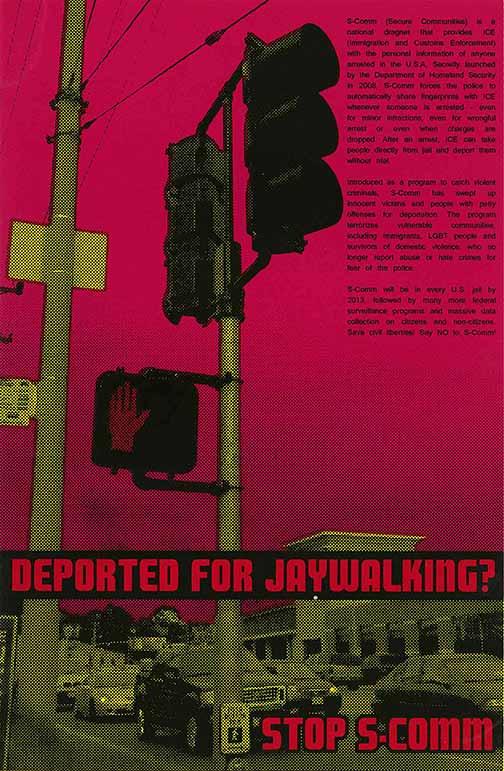 Deported for Jaywalking