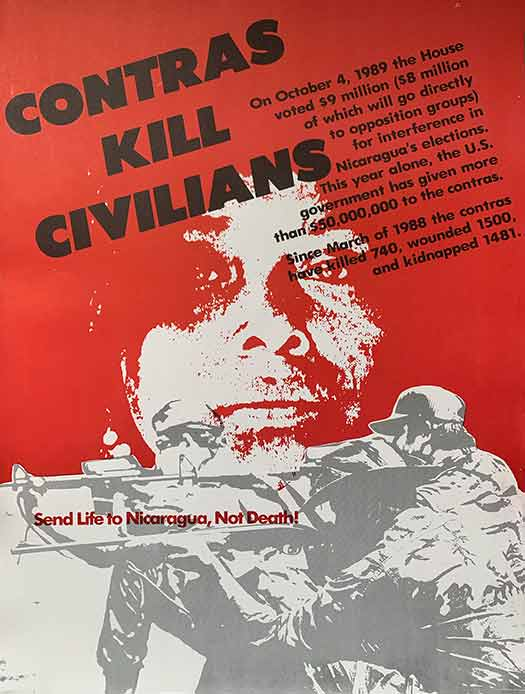 Contras Kill Civilians