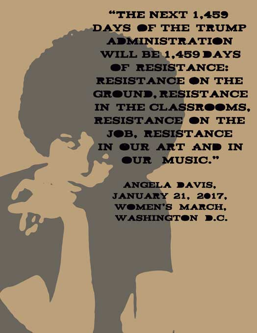 Angela Davis Women's March Quote