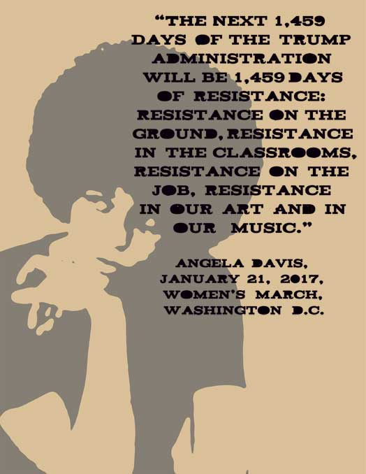 Angela Davis 1,459 Days of Resistance