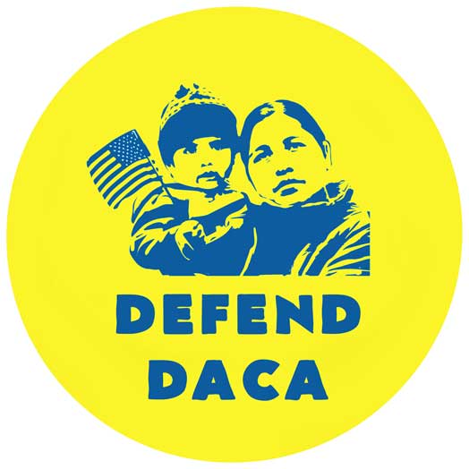 Defend DACA – circle version