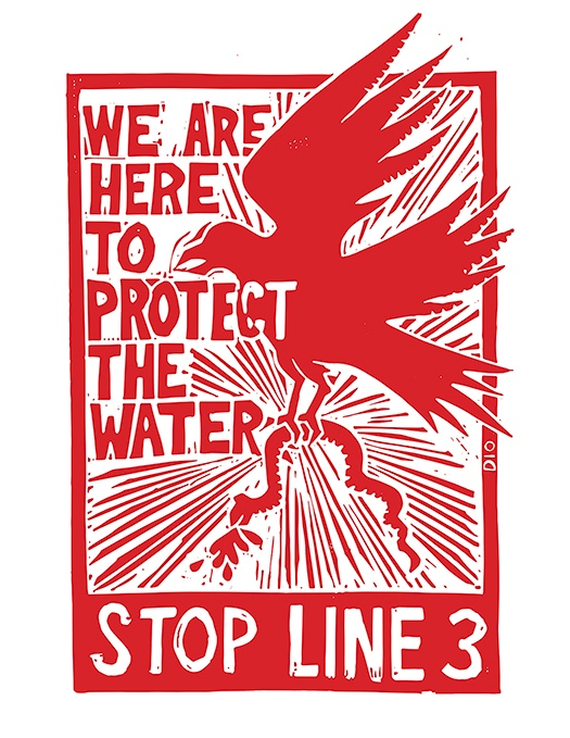 We are Here to Protect the Water – Stop Line 3