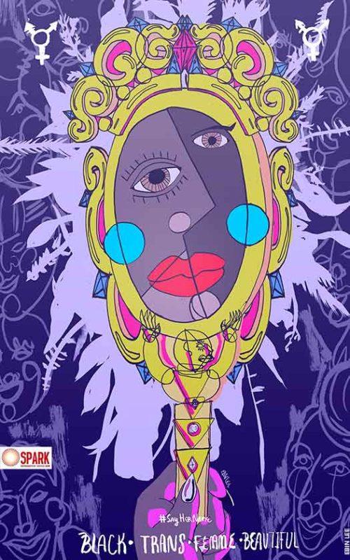 Black • Trans • Femme • Beautiful