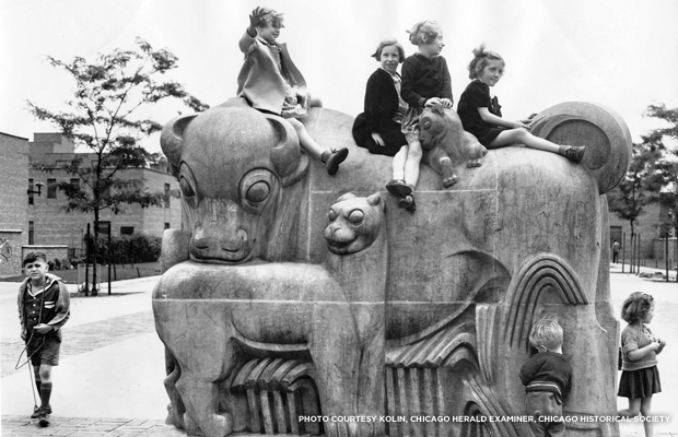 Edgar Miller_Animal Court playground_Chicago_savingplaces org130903_blog_photo_animalplayground_1chicagoexaminer