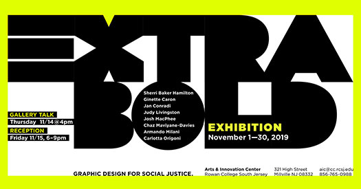 Extra Bold: Graphic Design for Social Justice