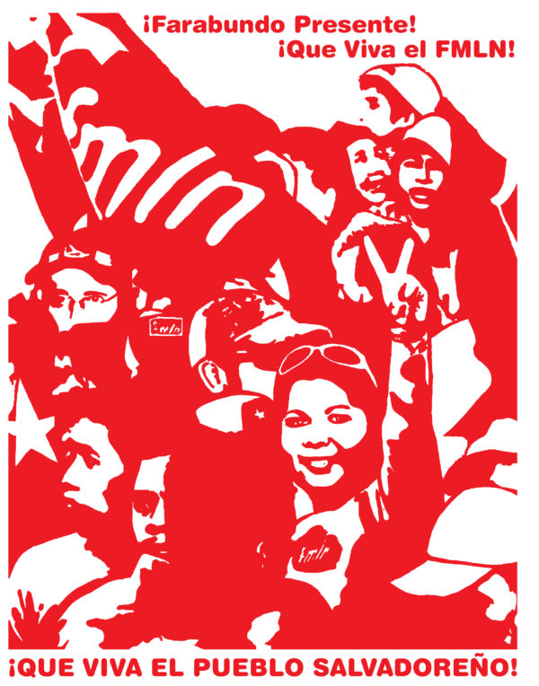 El Salvador Solidarity Poster