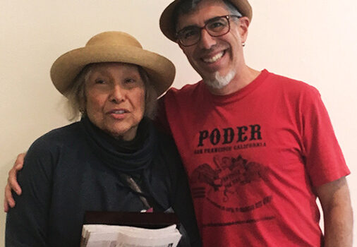 Yolanda López, ¡Presente! Serve the People!