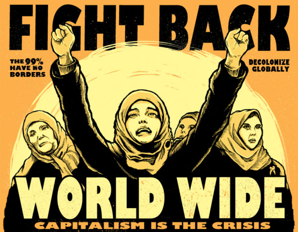 Occupy Posters: Fight Back—World Wide