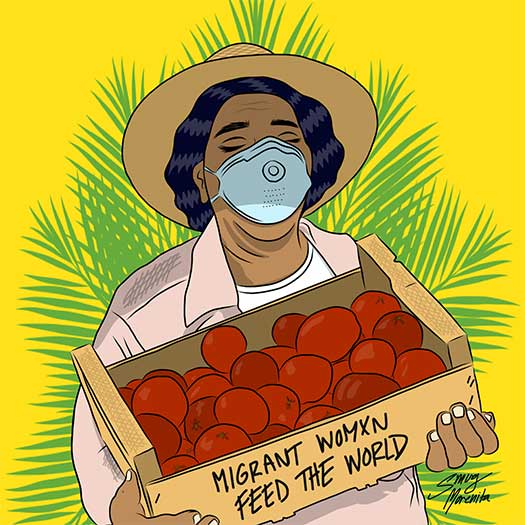 Migrant Women Feed the World