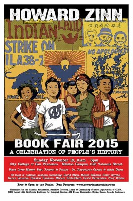 Howard Zinn Book Fair 2015