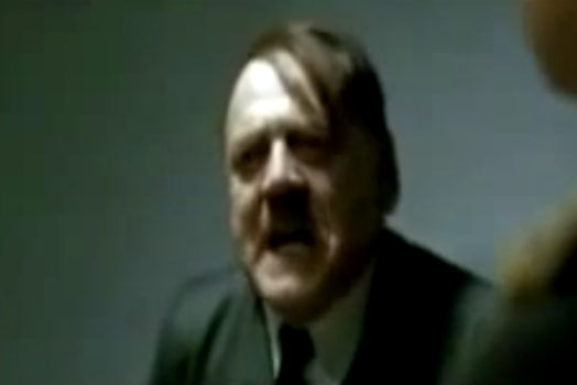 Hitler Reacts to May Day
