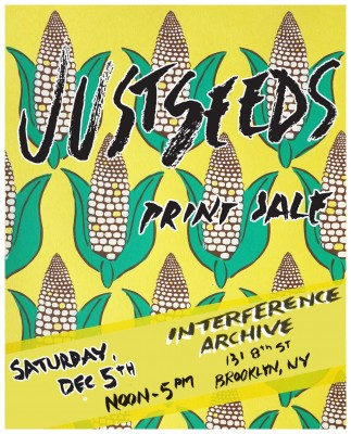 Justseeds Hang Out & Print Sale at Interference Archive