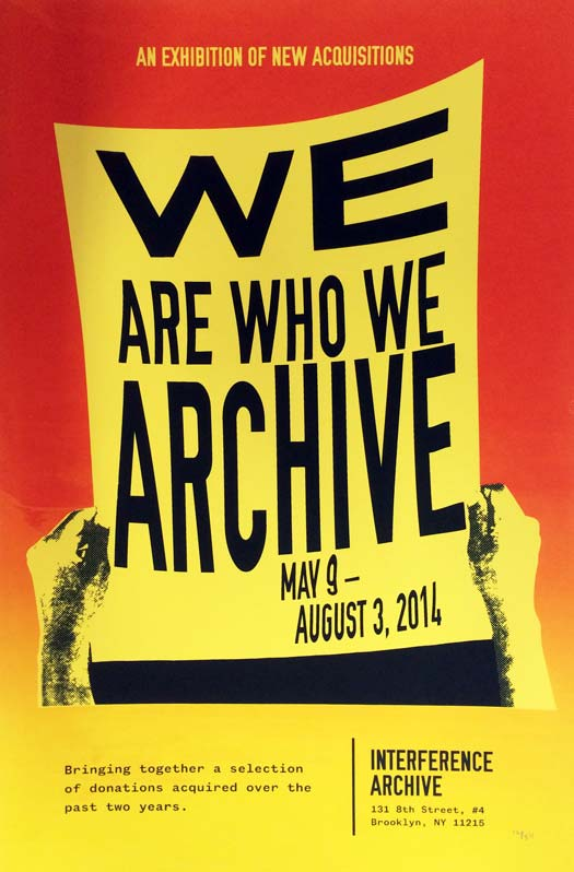 We Are Who We Archive