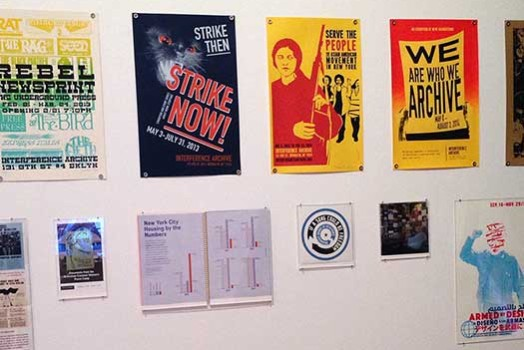 Interference Archive in Agitprop! at the Brooklyn Museum