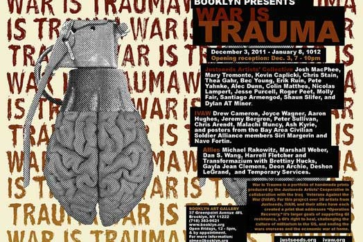 The War is Trauma portfolio is released!