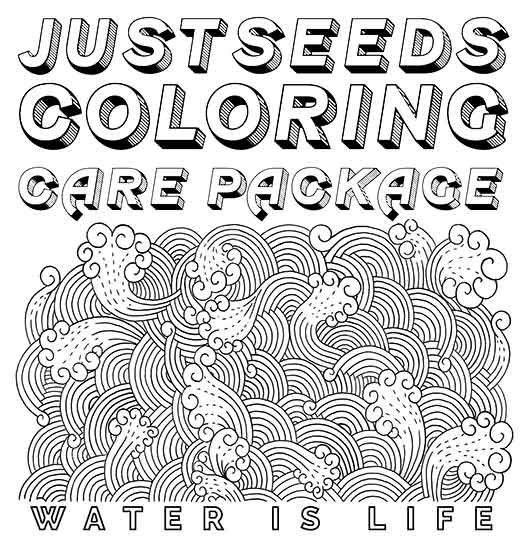 Justseeds Coloring Care Package