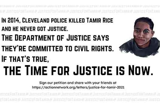 The time for Justice for Tamir Rice is now!