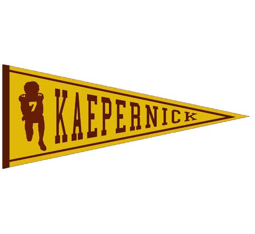 Kaepernick pennant
