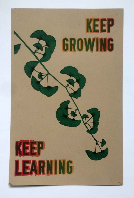Keep Growing Keep Learning