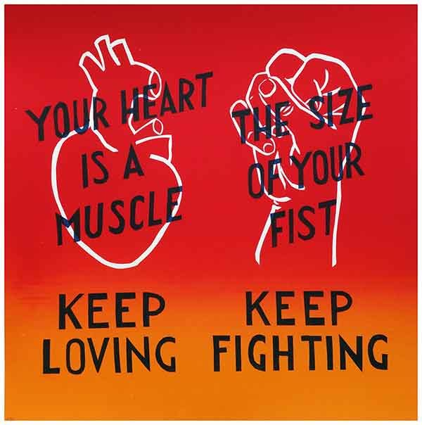 Keep Loving Keep Fighting