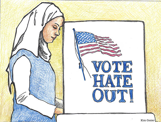 Vote Hate Out!