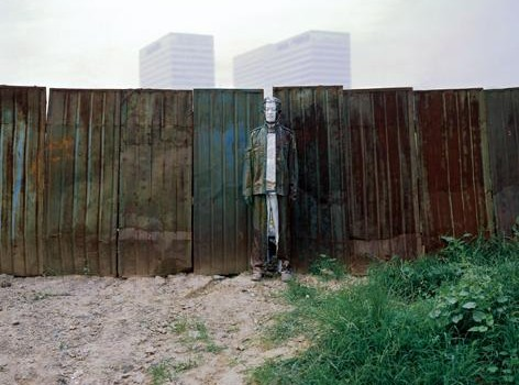 Liu Bolin: Hiding In The City