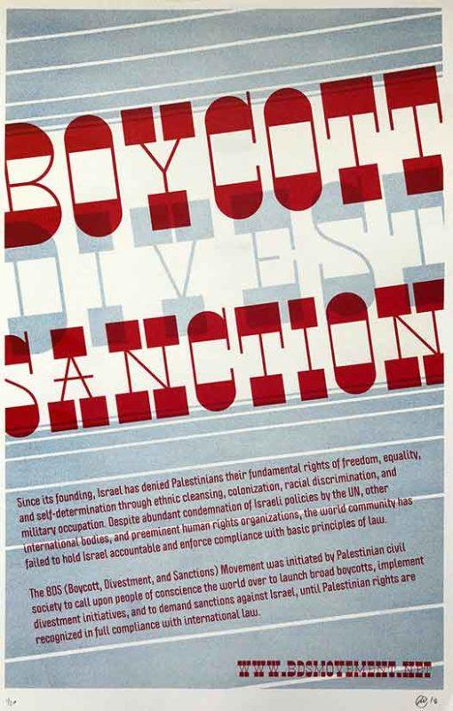 Boycott/Divest/Sanction
