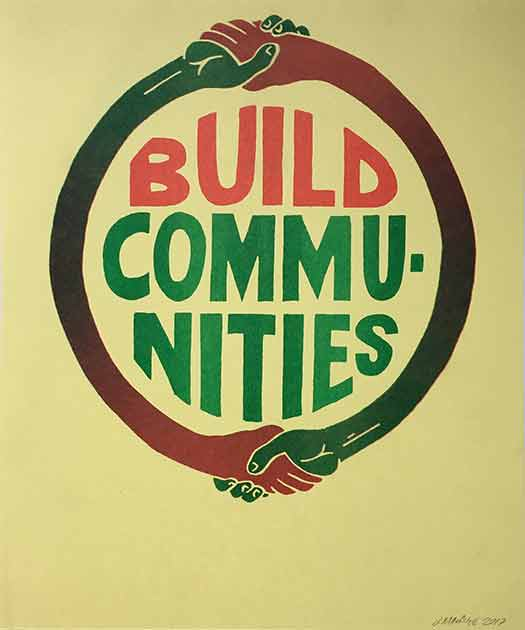 Build Communities (Red and Green)