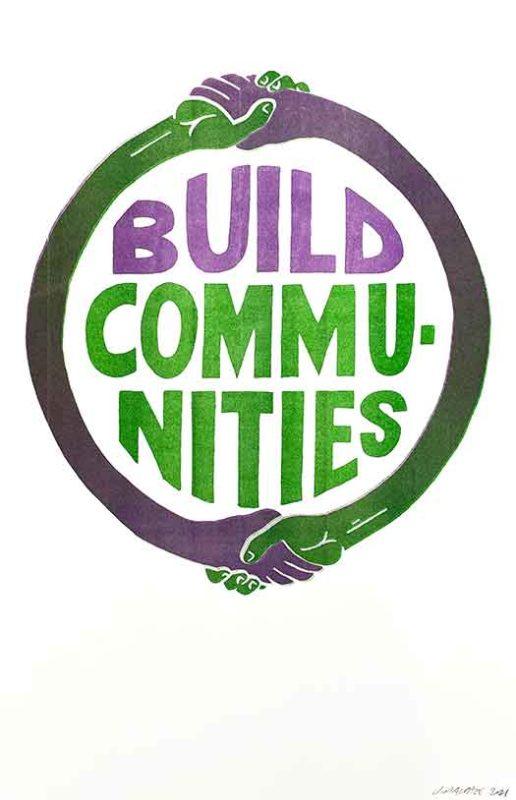 Build Communities (Green/Purple)