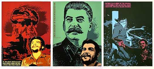 Che Guevara Triptych