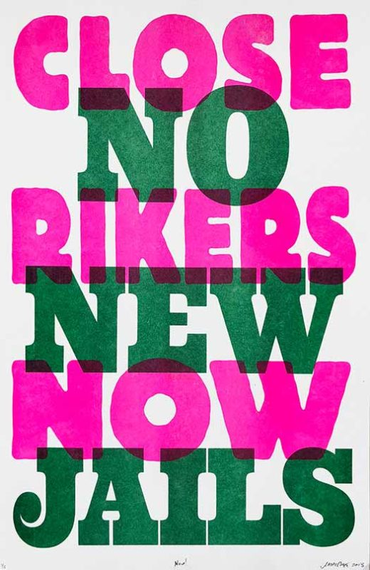 Close Rikers/No New Jails