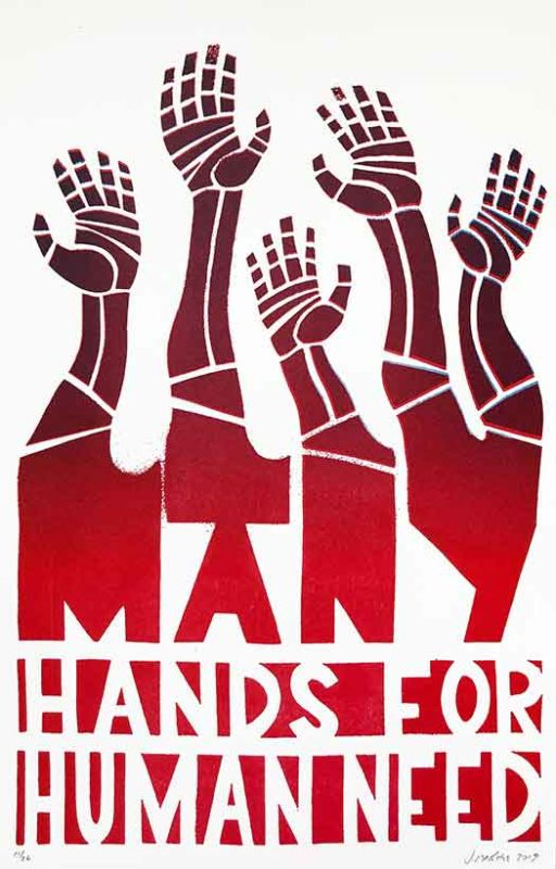 Many Hands For Human Need