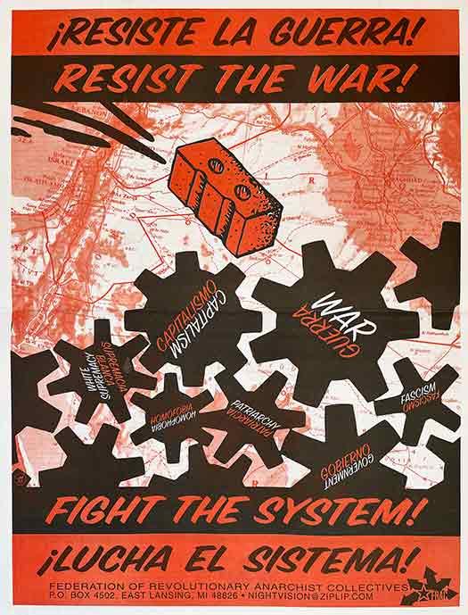 Resist the War! / ¡Resiste la Guerra!