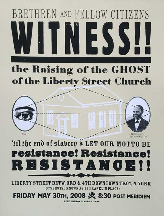 Ghost of the Liberty Street Church